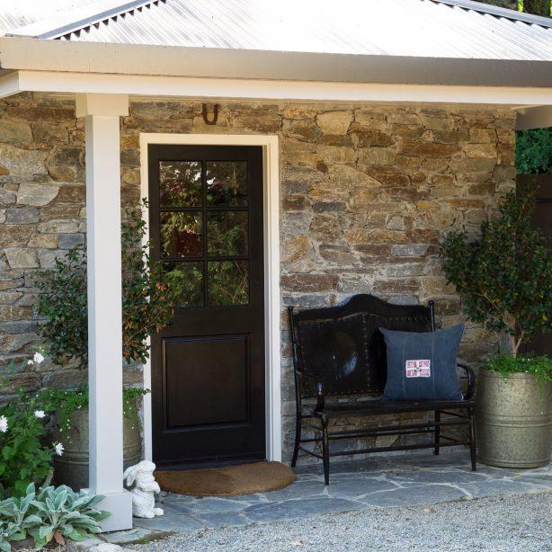 stone cottage exterior
